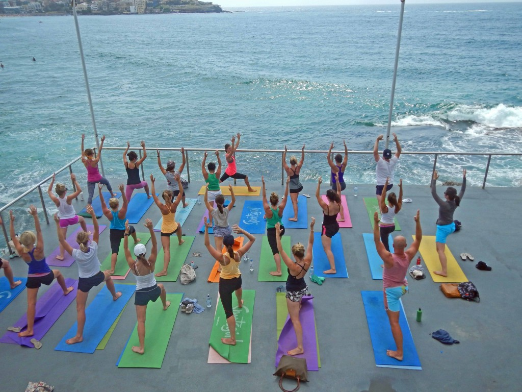 Yoga by the Ocean