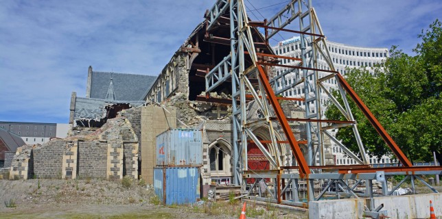 Christchurch Still Recovering
