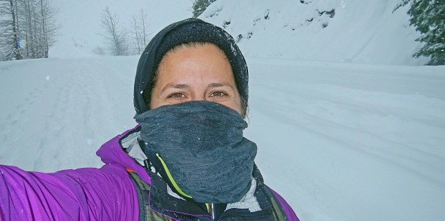 Something New:  Snowshoeing